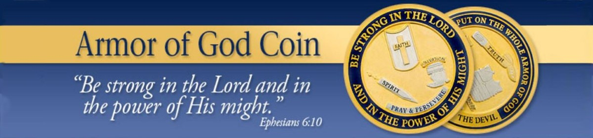 Idaho Armor Of God Coin